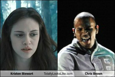 Kristen Stewart Totally Looks Like Chris Brown