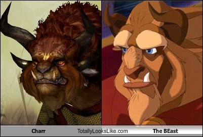 Beauty and the Beast,charr,disney,funny,game,guild wars 2,Movie,TLL