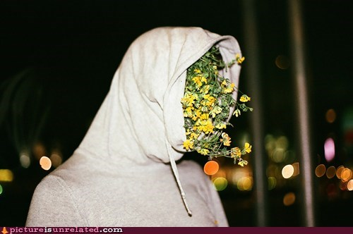 boquet,flowers,head,wtf