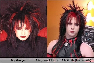 Boy George Totally Looks Like Eric Griffin (Murderdolls)