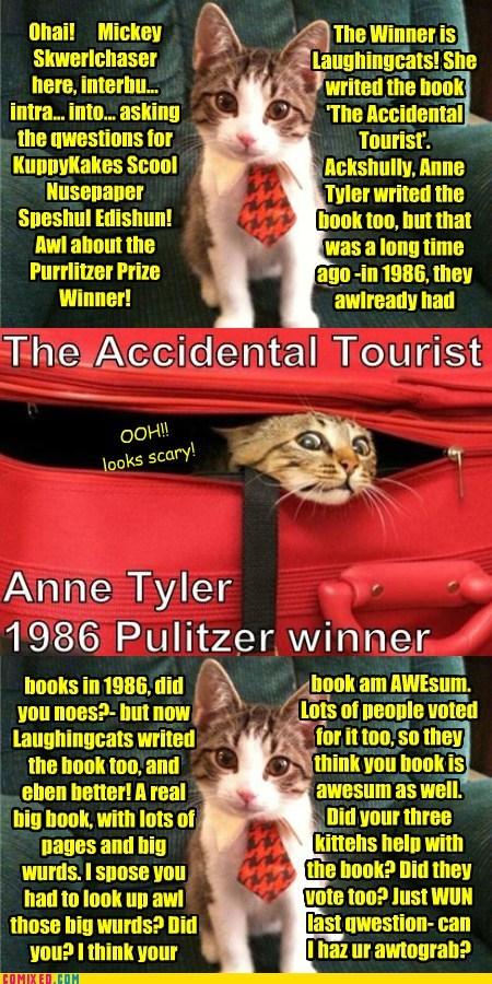 Purrlitzer Prize Winner