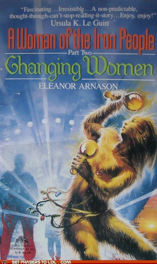 WTF Sci-Fi Book Covers: Changing Women