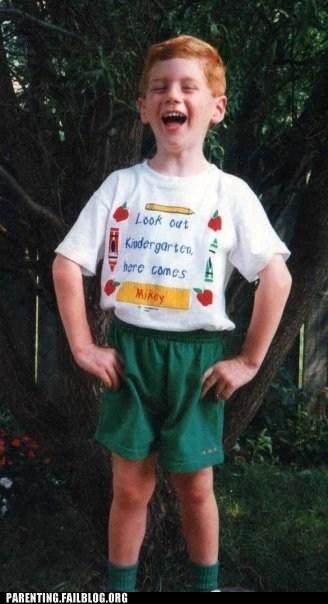 look out kindergarten,school,T.Shirt