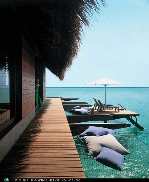 Tropical Retreat in Maldives