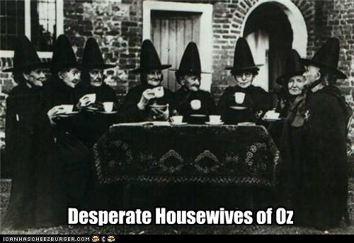 desperate housewives,oz,Witches