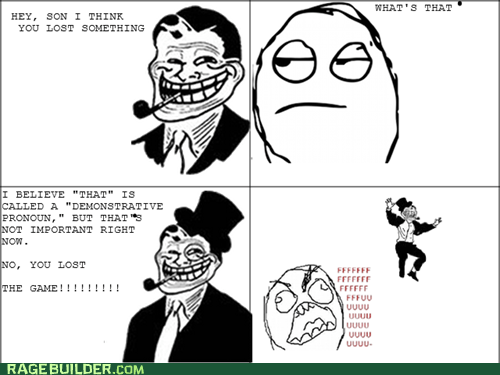 DOUBLE TROLL DAD!!