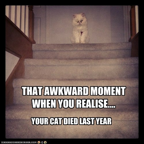 THAT AWKWARD MOMENT WHEN YOU REALISE....