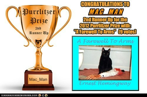 2012 Purrlitzer Prize - 2nd Runner Up - Mac_Man