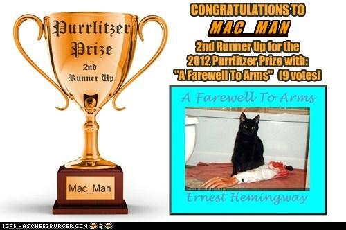 2012 Purrlitzer Prize - 2nd Runner Up - Mac_Man