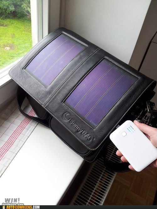 Phone Swag: The Solar Bag Phone Charger