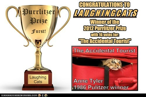 2012 Purrlitzer Prize - And The Winner Is... Laughingcats!