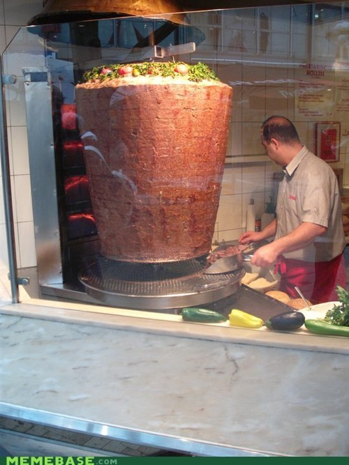 Anyone Else Hungry for a Nice Kebab?