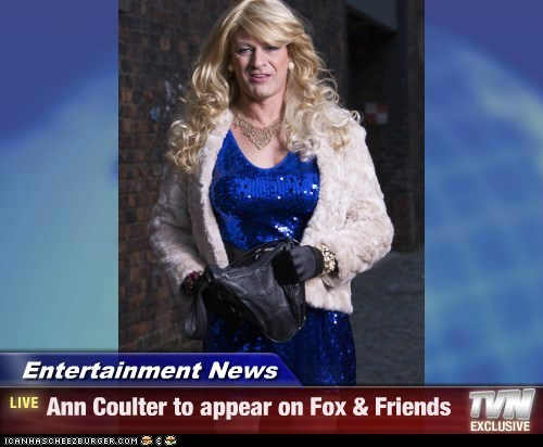 Entertainment News - Ann Coulter to appear on Fox & Friends