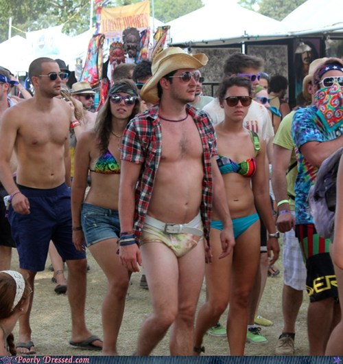 At Bonnaroo: Pants Optional, Cowboy Hats REQUIRED