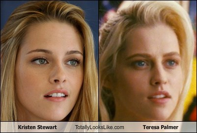 Kristen Stewart Totally Looks Like Teresa Palmer
