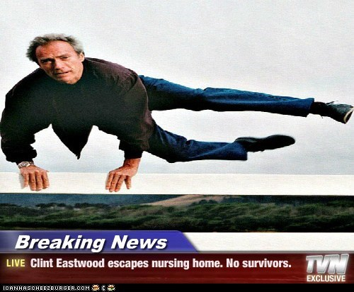 actor,celeb,Clint Eastwood,funny
