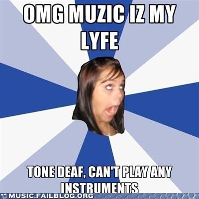 annoying facebook girl,instruments,meme