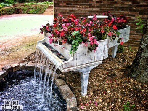 WIN!: Piano Fountain WIN