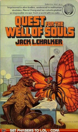 WTF Sci-Fi Book Covers: Quest for the Well of Souls