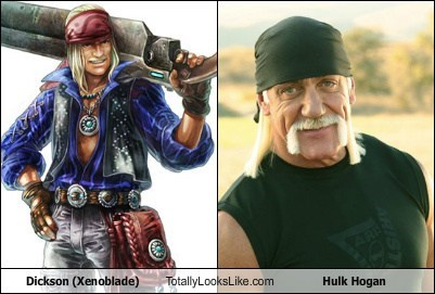 Dickson (Xenoblade) Totally Looks Like Hulk Hogan