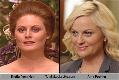 Sheila from Hair Totally Looks Like Amy Poehler
