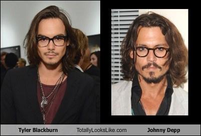 actor,celeb,funny,Johnny Depp,TLL,tyler blackburn