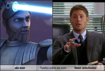 obi wan  Totally Looks Like Dean winchester