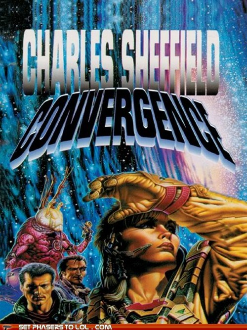 WTF Sci-Fi Book Covers: Convergence