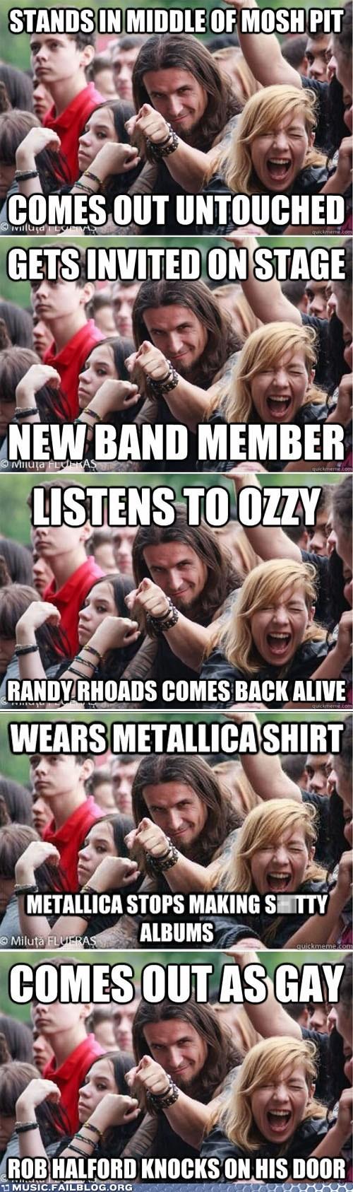 Music FAILS: Ridiculously Photogenic Metalhead