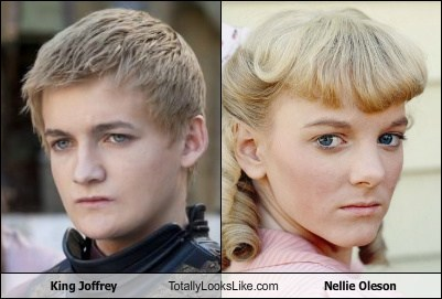 King Joffrey (Jack Gleeson) Totally Looks Like Nellie Oleson