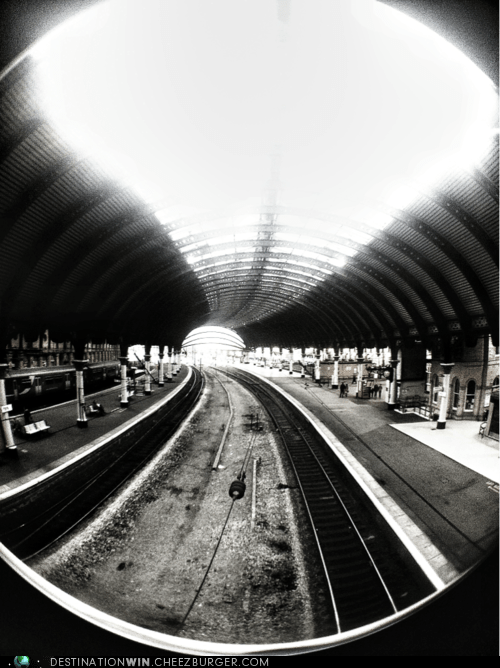 Train Station Point of View