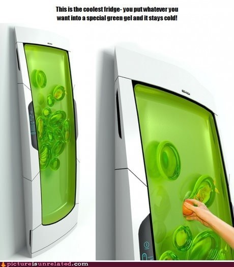 Zero-Energy Gel Fridge