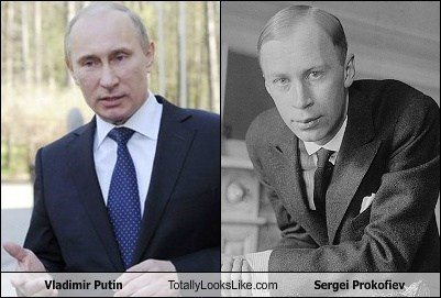 Vladimir Putin Totally Looks Like Sergei Prokofiev
