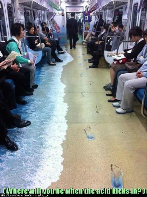 Where Else But the Subway?