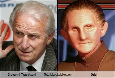 Giovanni Trapattoni Totally Looks Like Odo