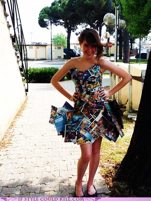 Marvel-ous Comic Book Dress