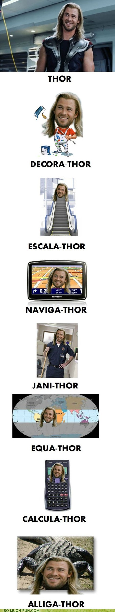 He Has a Very Thor-ough Resume