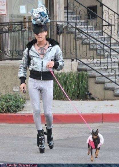 Ugh, That Dog is Committing a Fashion Felony