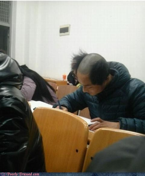 Studying Hard WILL Make You Lose Your Hair