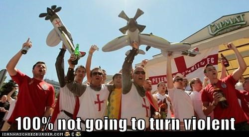 What? English Soccer Fans? Never!