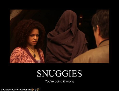 artifacts,genelle williams,leena,Snuggies,warehouse,warehouse 13,youre-doing-it-wrong