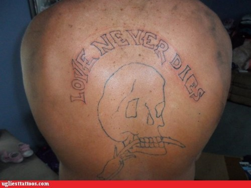 Ugliest Tattoos: You Know What Else is Permanent?