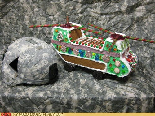 camouflage,candy,chopper,gingerbread,helicopter,helmet,miltary