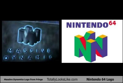 Massive Dynamics Logo from Fringe Totally Looks Like Nintendo 64 Logo