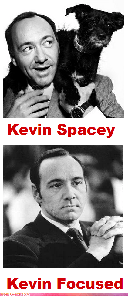 The Different Types of Kevin Spaceys