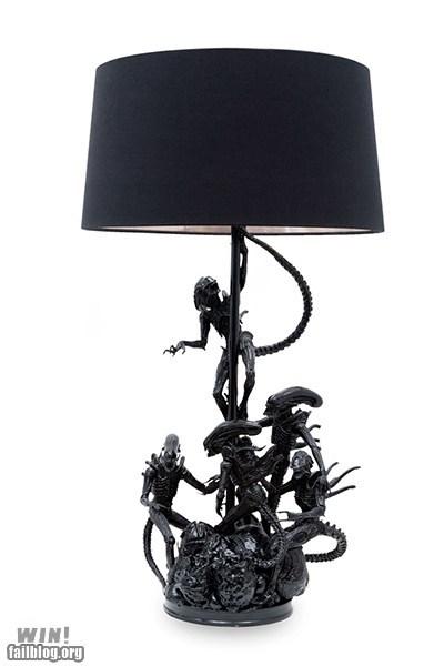 alien,Aliens,design,g rated,Hall of Fame,lamp,nerdgasm,sci fi,win,xenomorphs