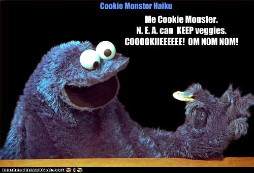 Cookie Monster Haiku