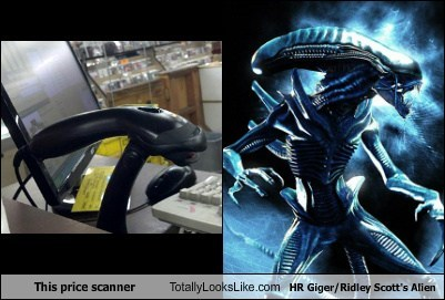 This Price Scanner Totally Looks Like HR Giger/Ridley Scott's Alien