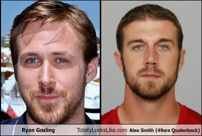 Ryan Gosling Totally Looks Like Alex Smith (49ers Quarterback)