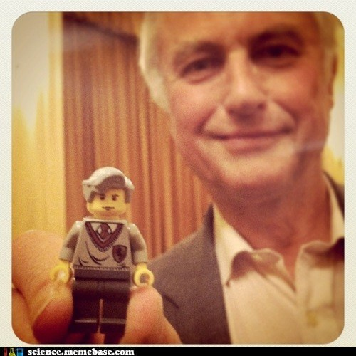 The Adorable Dawkins Lego